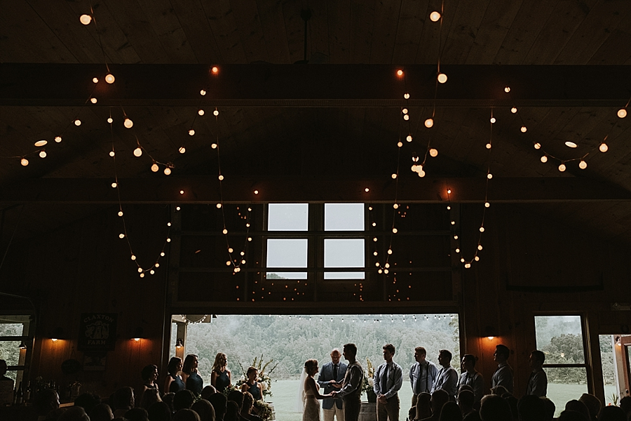 Claxton Farm wedding Weaverville North Carolina