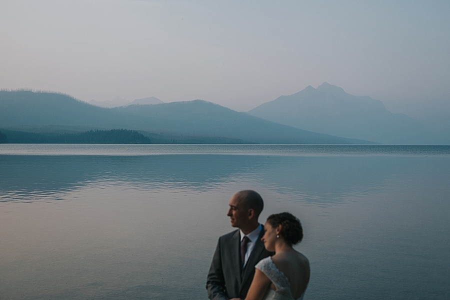 Glacier National Park Montana wedding