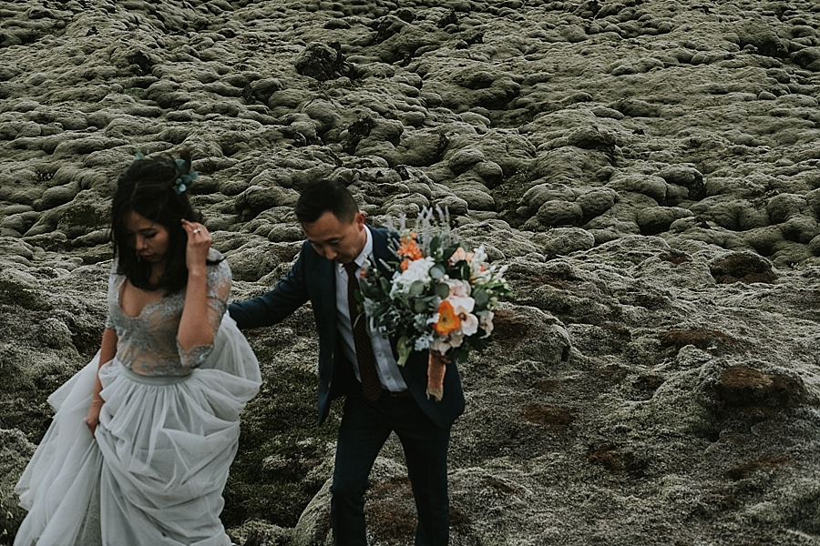 Iceland adventure elopement photographer