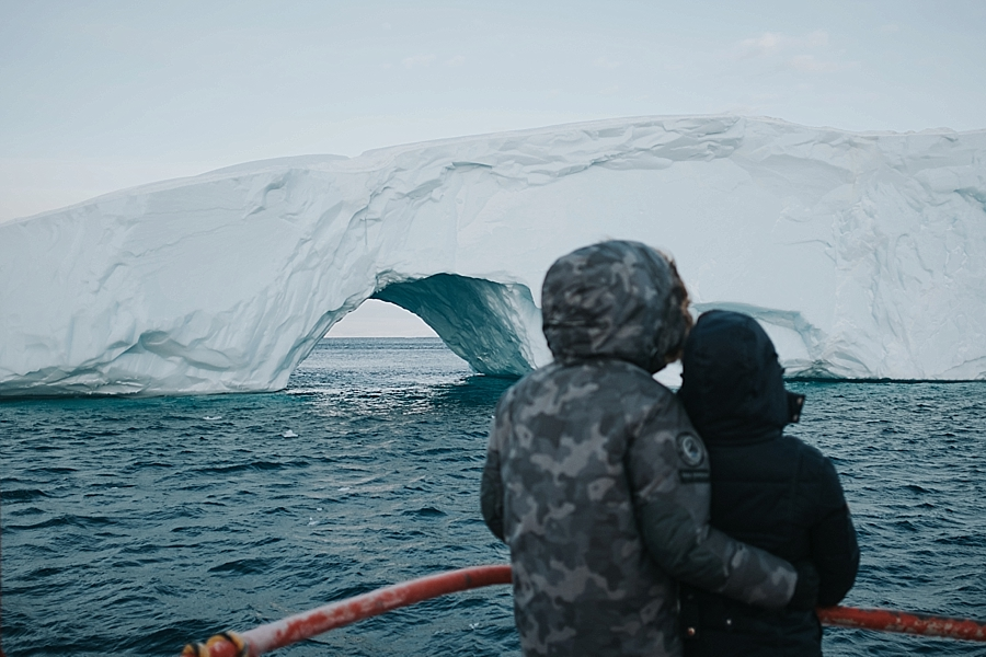 Greenland adventure elopement