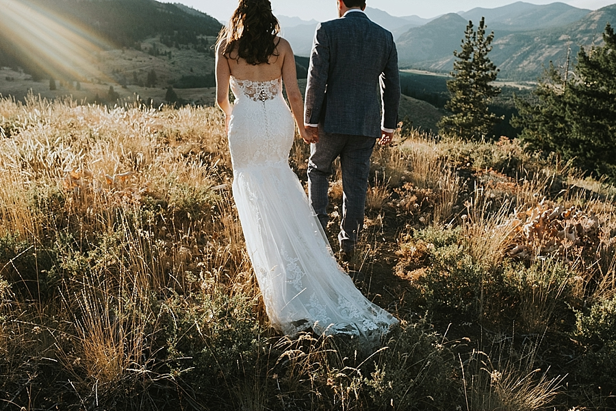 Sun Mountain Lodge wedding