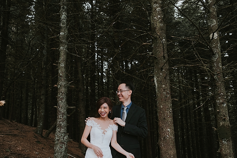 Asheville Wedding Black Balsam Knob