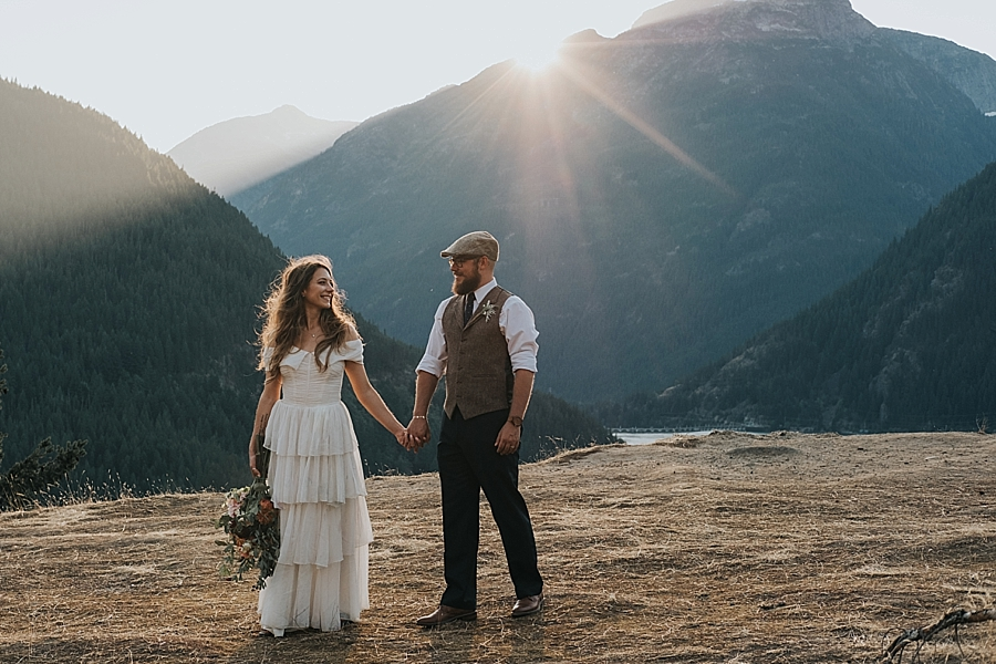 Diablo Lake Overlook wedding