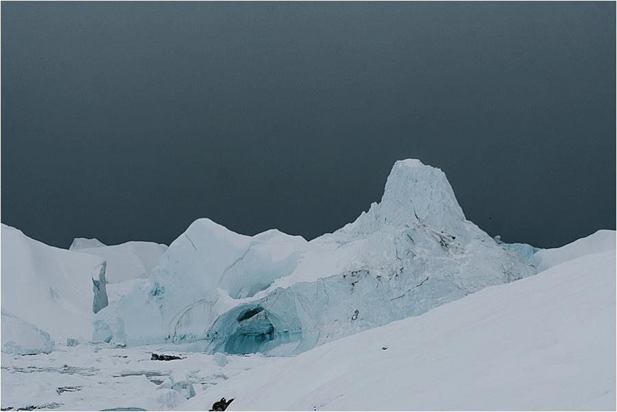 Greenland polar ice