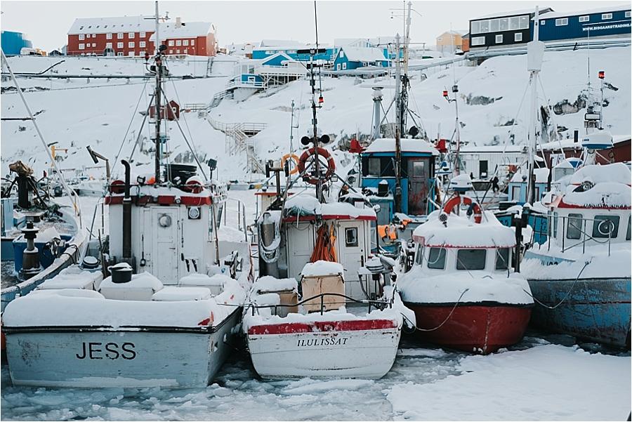 Greenland fishing