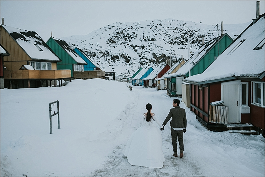 Norway outdoor wedding
