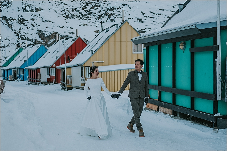 alaska winter wedding