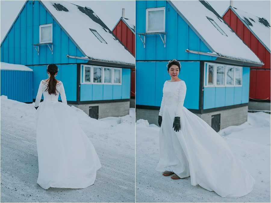 alaska winter elopement