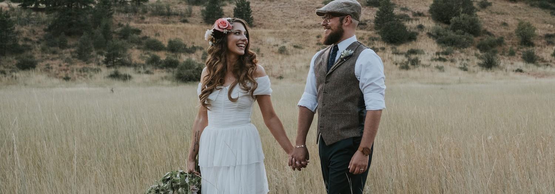 Torey + Steve | Eastern Washington Tipi Wedding