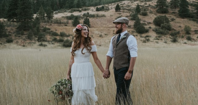 Torey + Steve | Eastern Washington Tipi Wedding