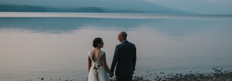 Katy + Nick   Glacier National Park, Montana Wedding
