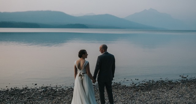 Katy + Nick | Glacier National Park, Montana Wedding