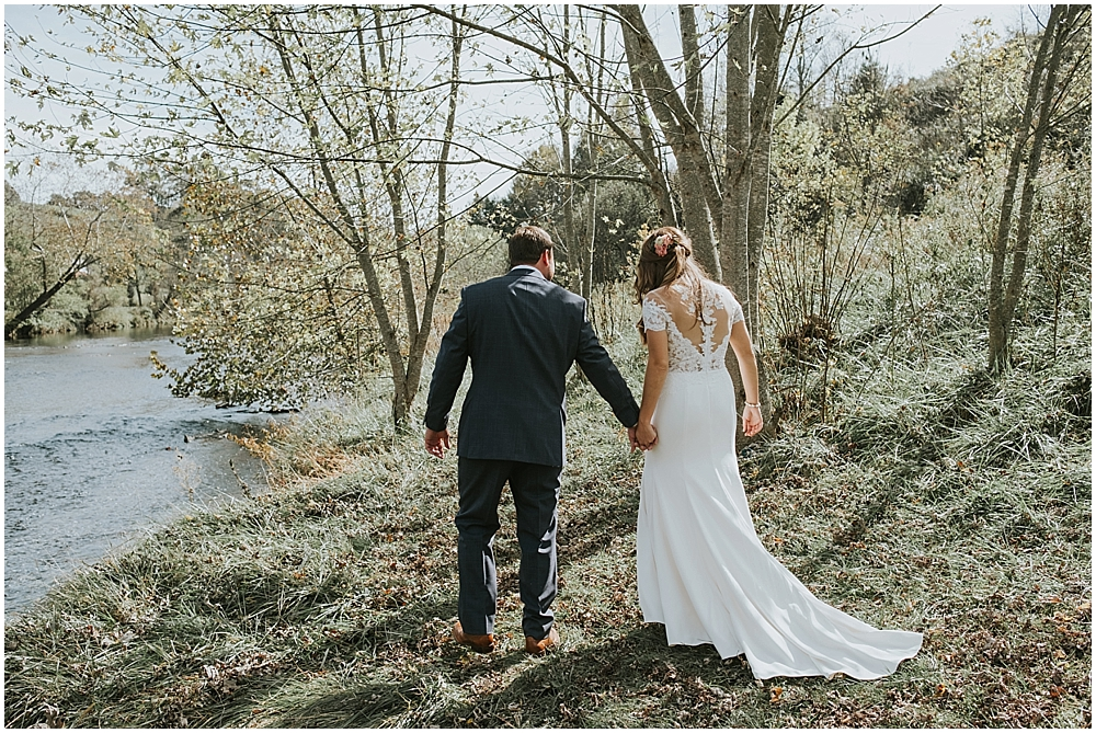 Asheville NC wedding cabin