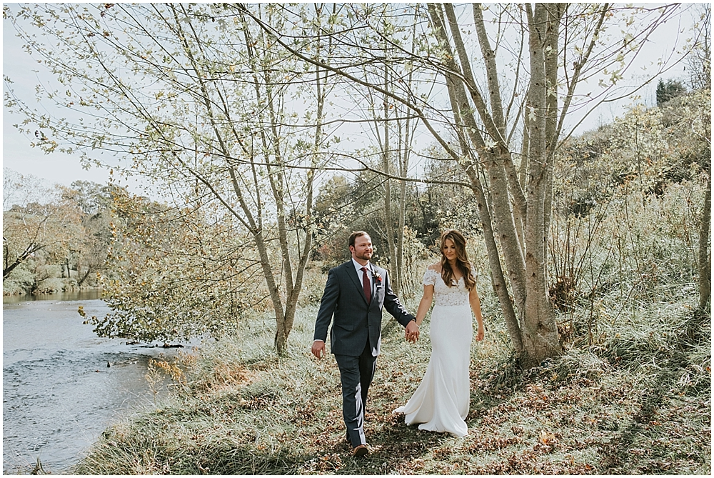 cabin wedding in Asheville, North Carolina mountains