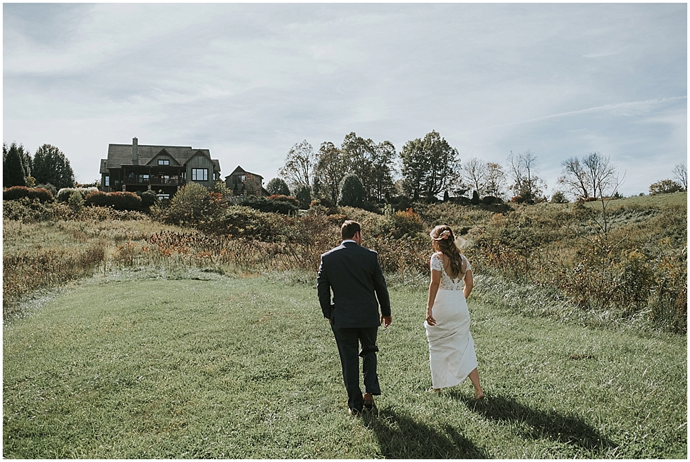 mountain cabin wedding in Asheville North Carolina