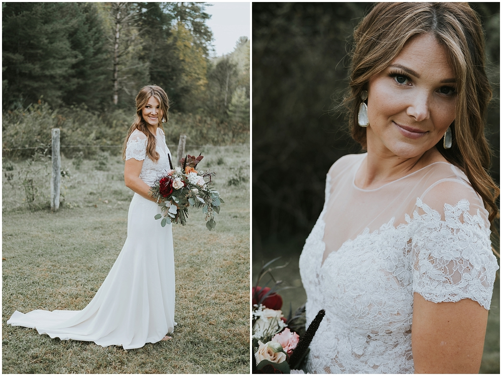 Asheville mountain wedding photographer