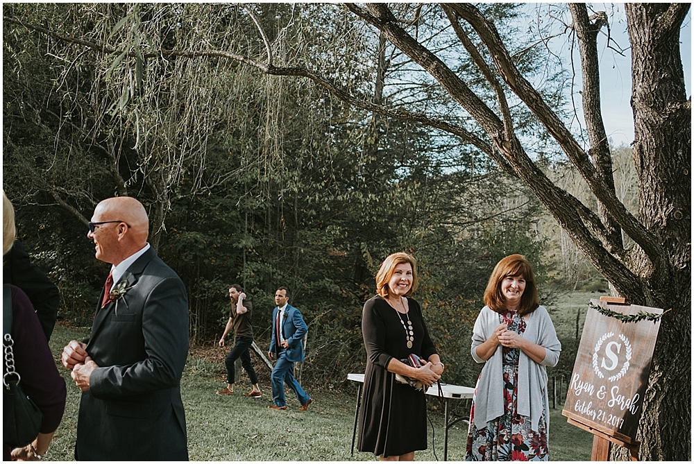 Asheville documentary wedding photography