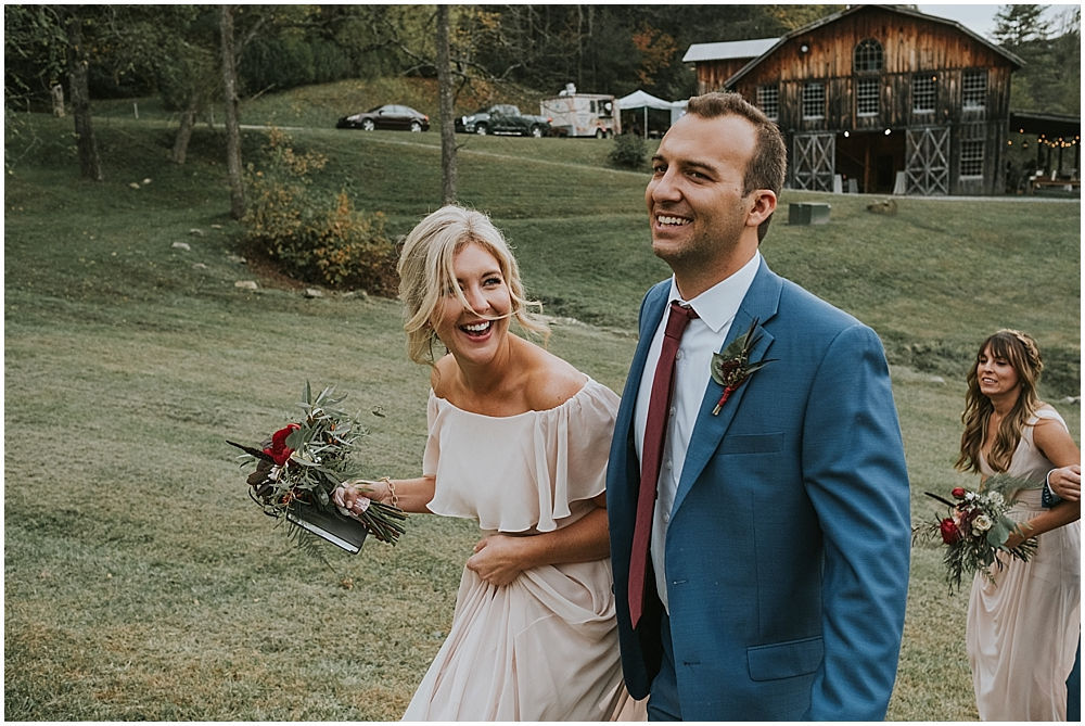 joyful wedding photography asheville nc