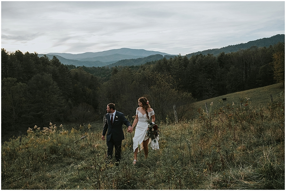 Boone North Carolina scenic wedding venue