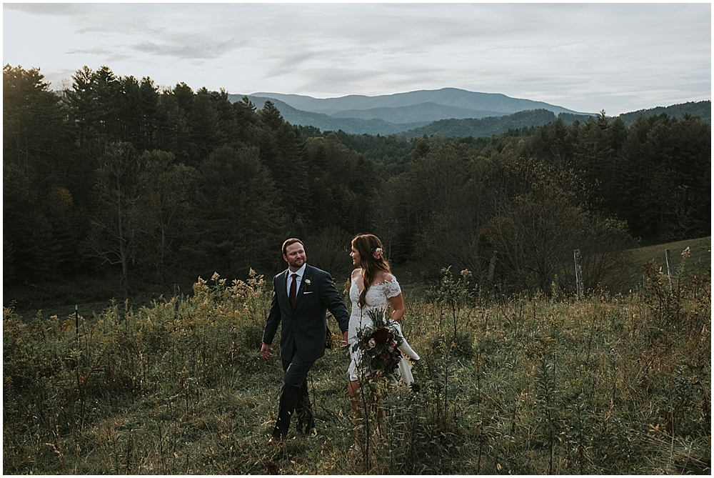 wedding photographer in Boone NC