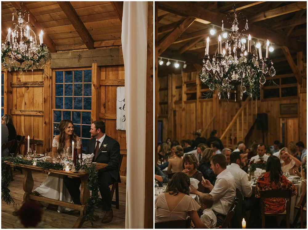 glamorous mountain wedding in Asheville NC