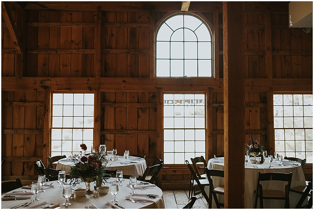 Fines Creek Farm rustic asheville barn wedding
