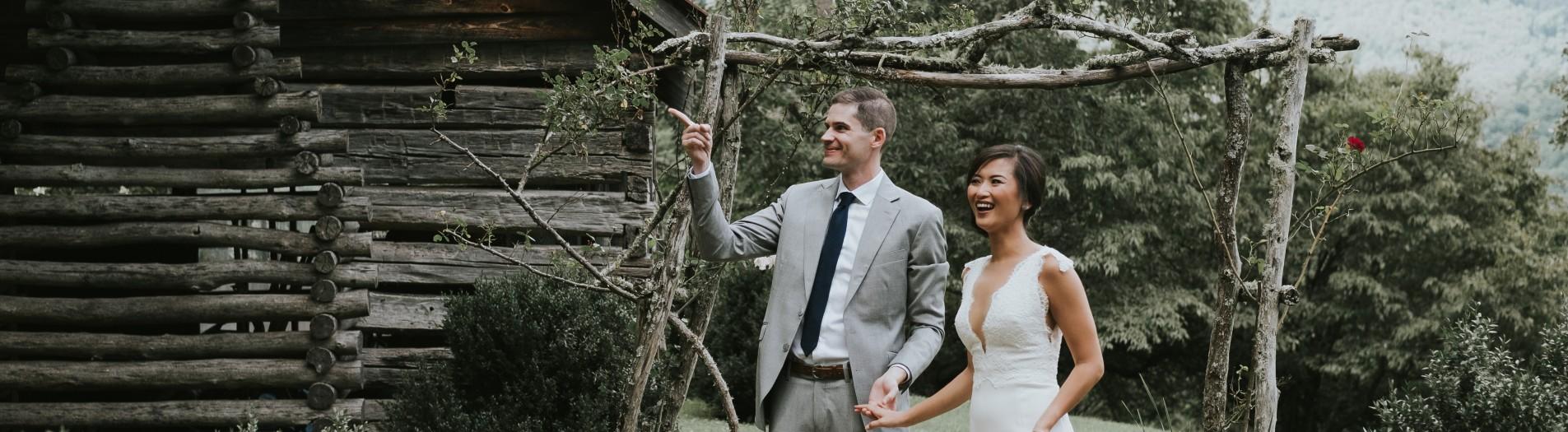 Merrybelle + Patrick   Vineyard Wedding in the North Carolina Blue Ridge Mountains