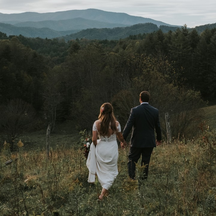 Sarah + Ryan | Fines Creek Farm Wedding in Asheville, NC