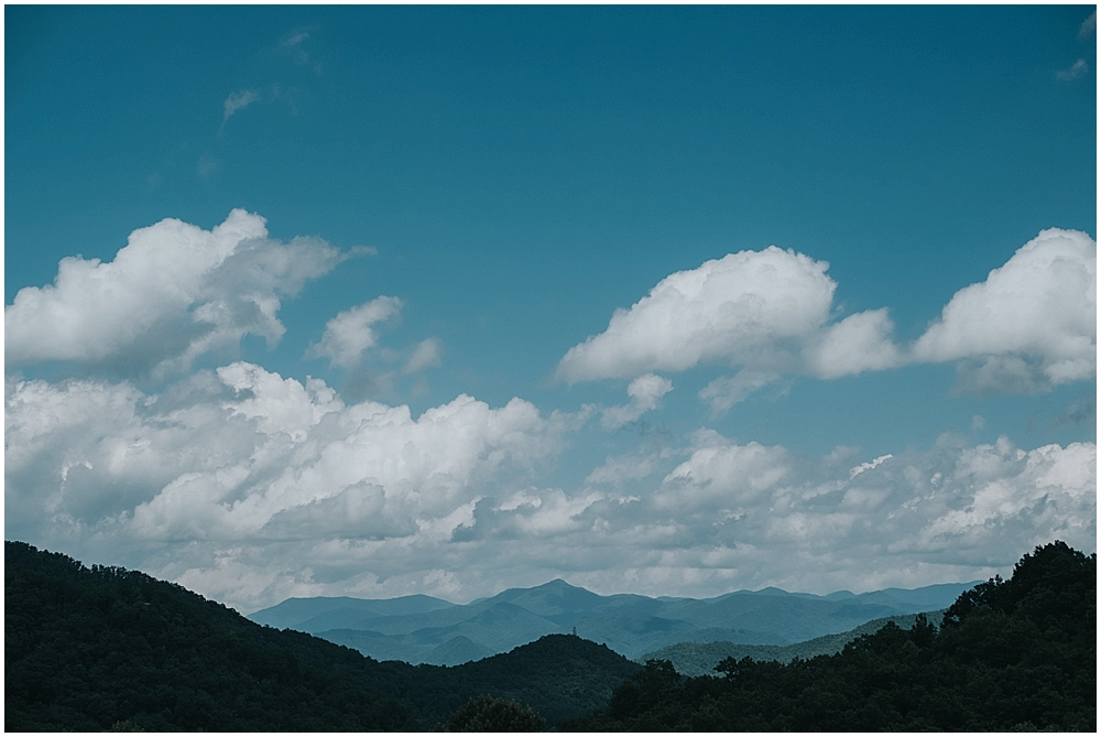 Asheville wedding venue with mountain views