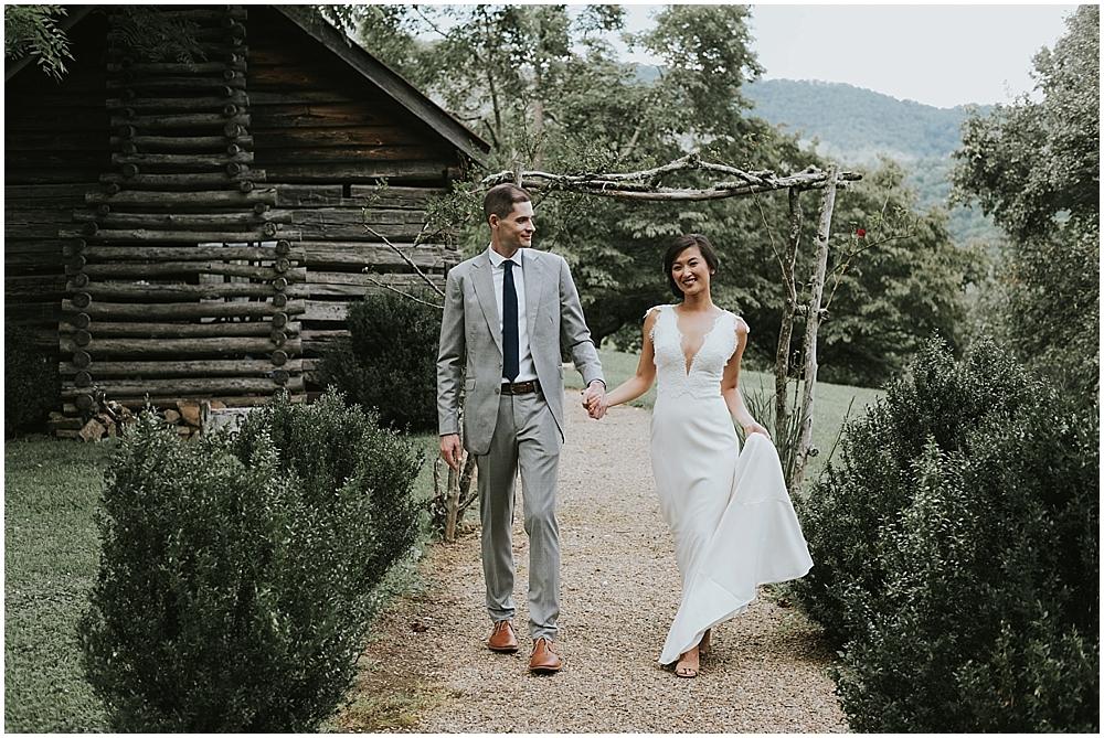 genuine creative wedding photographer asheville nc