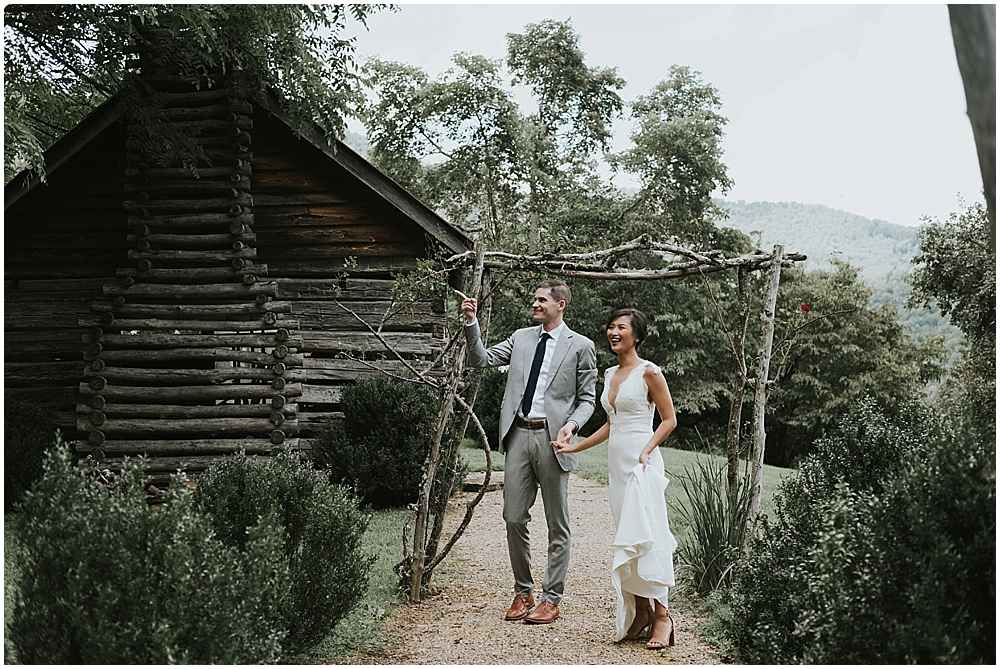 nontraditional wedding photographer asheville nc