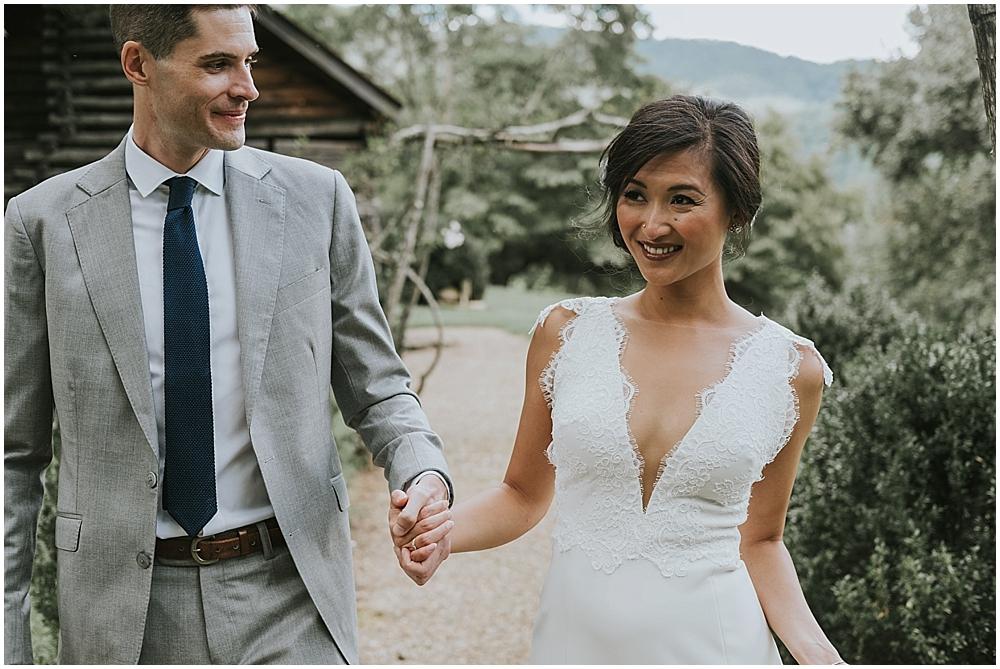 Vineyards at Betty's Creek north carolina mountain wedding