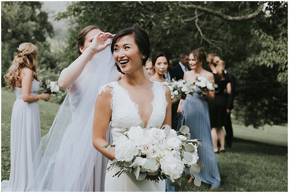 boho glam wedding in north carolina mountains