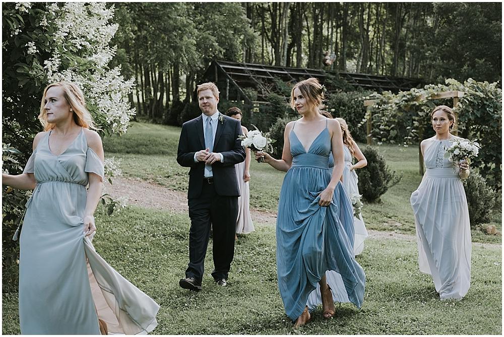 Candid wedding photographer Asheville NC
