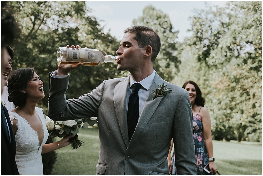 asheville candid wedding photographer