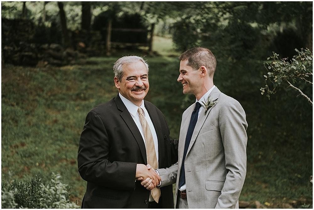 candid joyful wedding photographer asheville nc