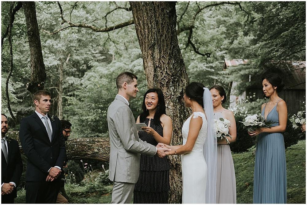 pisgah forest wedding photographer
