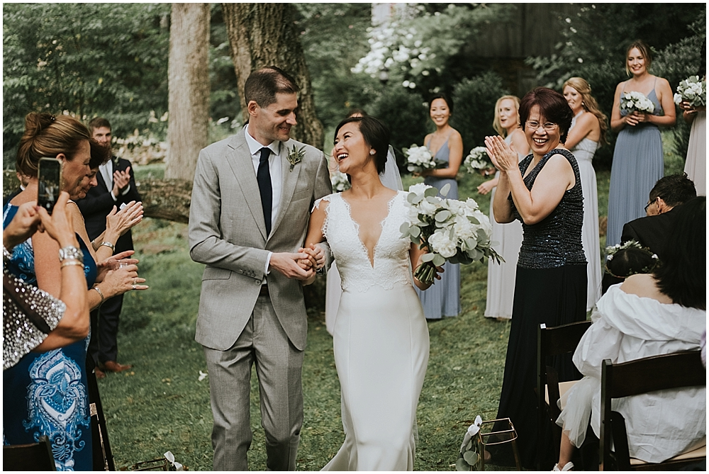 asheville nc forest wedding