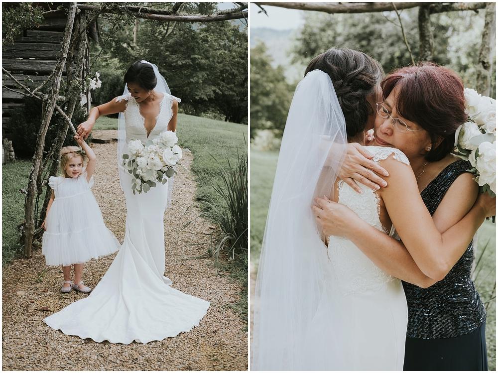genuine artistic asheville wedding photographer