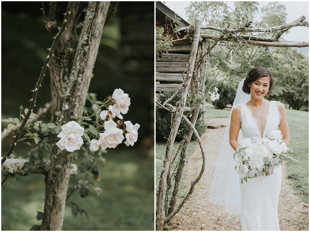 magazine editorial asheville wedding photographer
