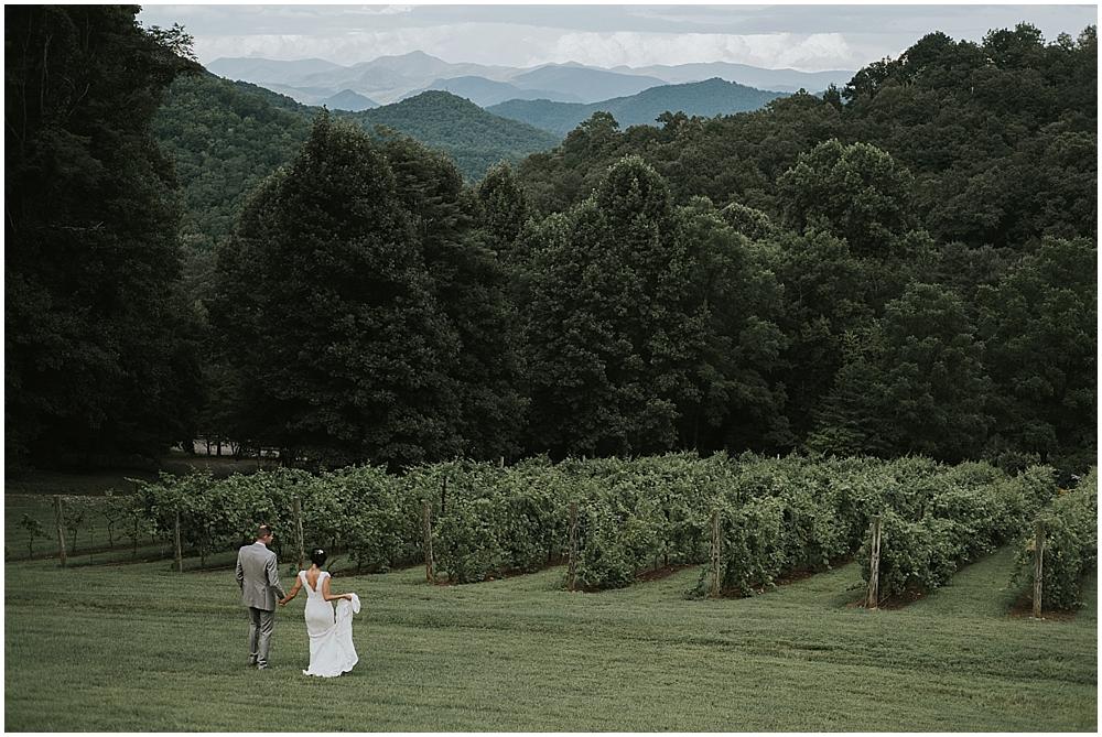 asheville nc scenic mountaintop wedding venue
