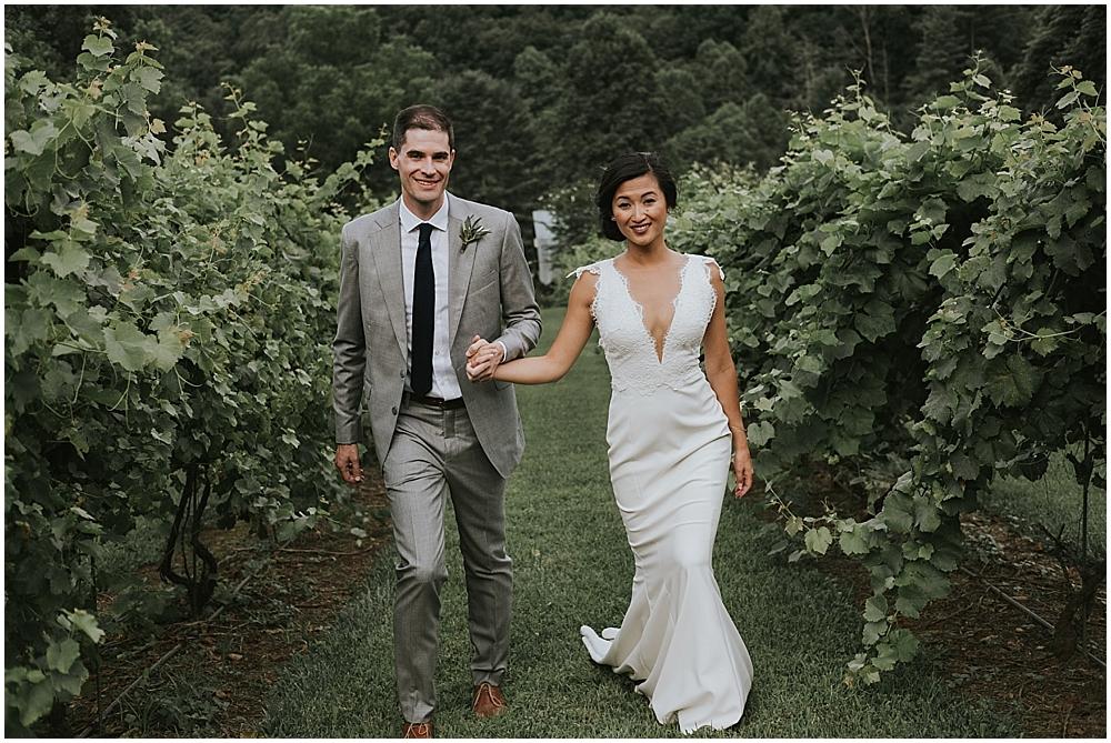 elegant authentic wedding photographer asheville
