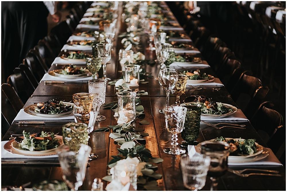 boho glam wedding Bitmore estate