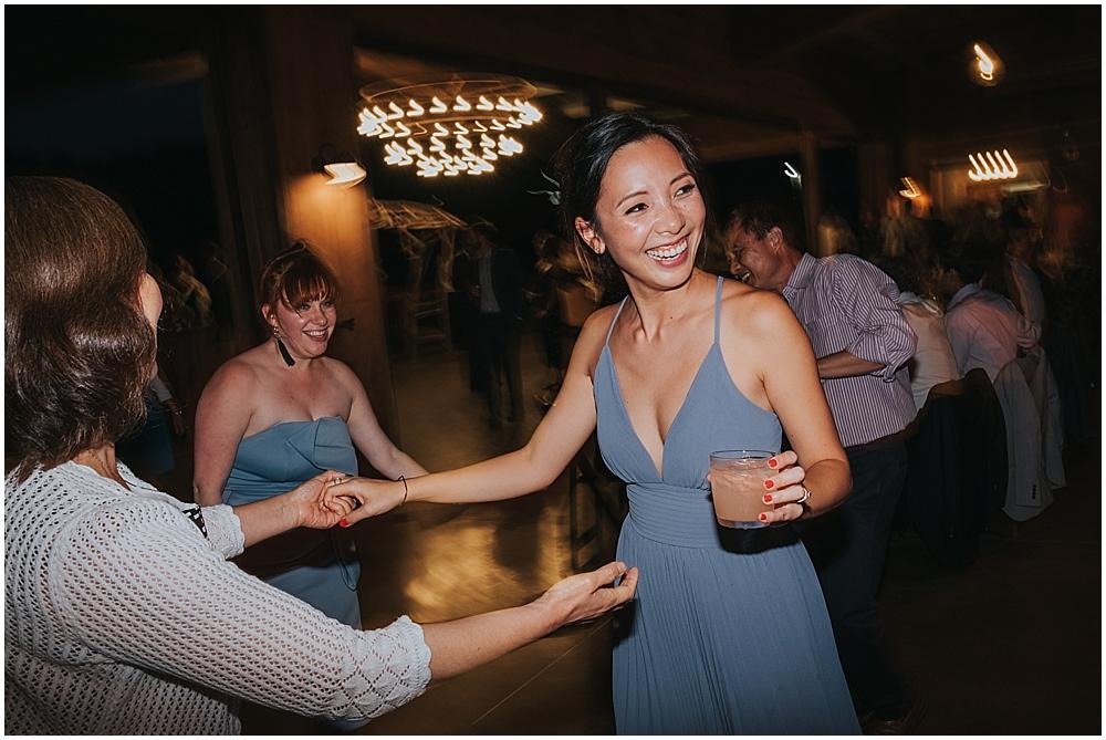 Vineyards at Betty's Creek wedding reception