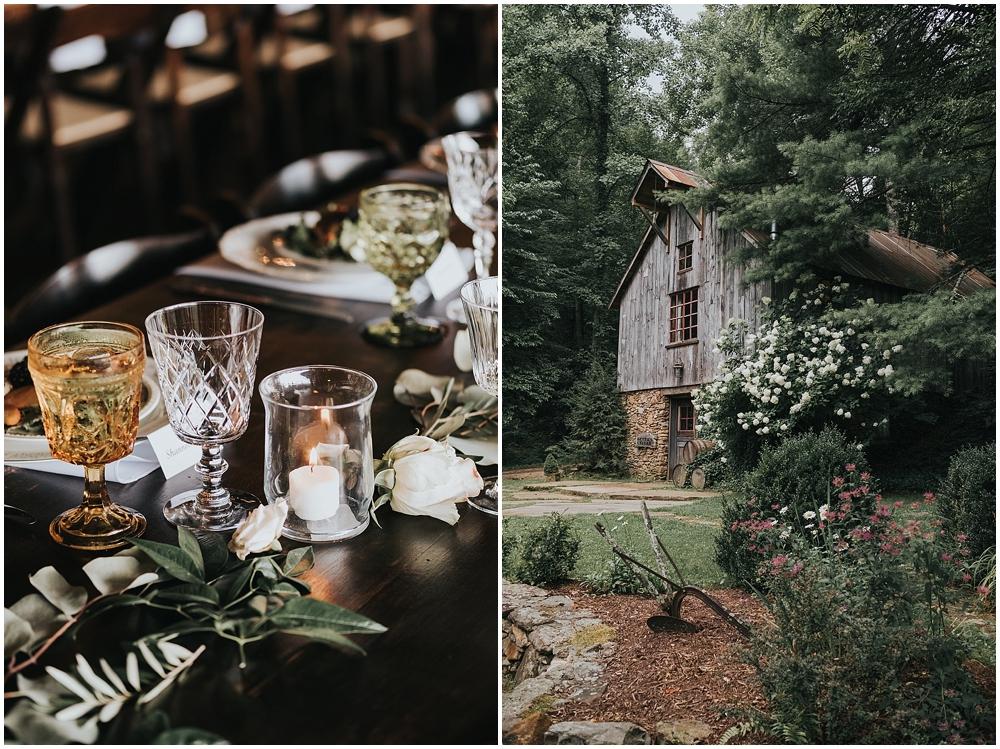 luxurious asheville mountain wedding venue