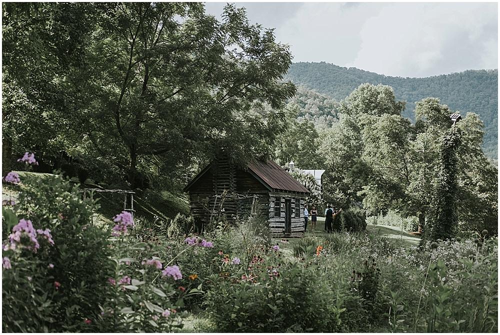 mountain cabin wedding asheville north carolina