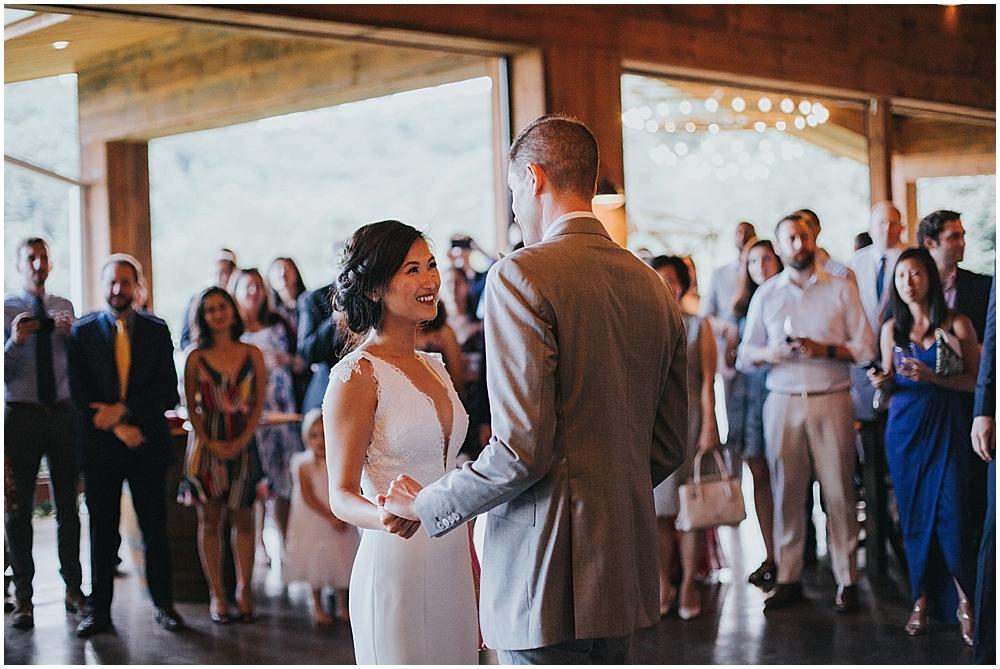 asheville nc natural light wedding photographer