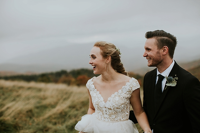 elopement at Max Patch