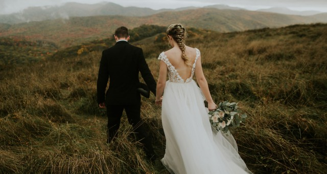 Gini + Jordan | Asheville Mountaintop Elopement