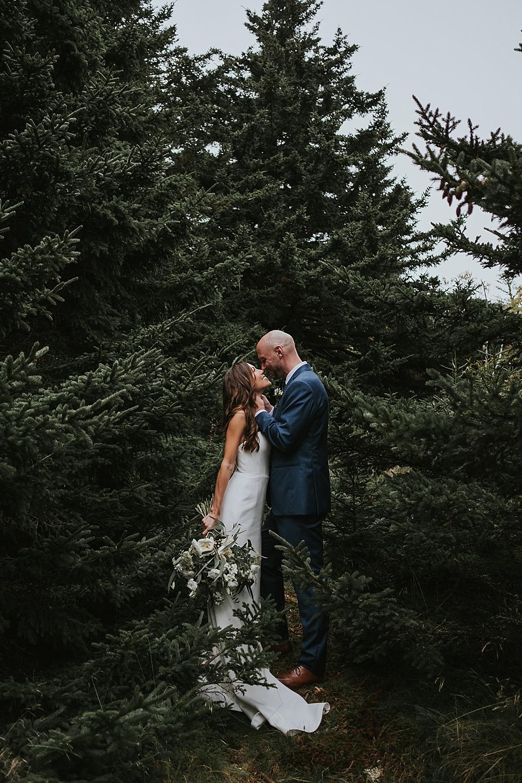 elopement at Roan Mountain
